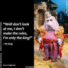 Fraggle Rock Meme - fraggle rock meme pa gorg only the king on bingememe