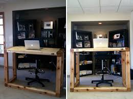 Diy Stand Up Desk Standing Desk Drafting Table 10 Do It Yourself Standing Desks