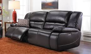 Furniture Leather Sofa Jamison Leather Power Reclining Sofa The Dump America U0027s