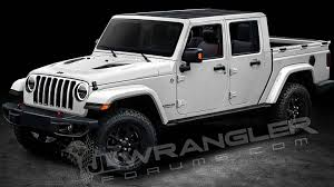 new jeep wrangler jl jl wrangler forums releases renderings of future jeep pickup the