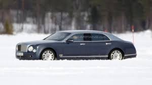 bentley mulsanne is the world bentley mulsanne lwb spied for the first time