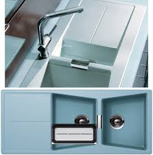 Blue Kitchen Sink 20 Reinhard Fireclay Farmhouse Sink Sapphire Blue Kitchen Intended