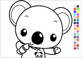coloring pages kidonlinegame