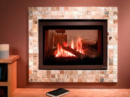 gas fireplace contemporary closed hearth double sided st