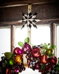 mackenzie childs wreath hanger
