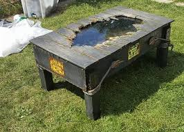 jason voorhees coffee table take a look at this diy jason voorhees table rue morgue