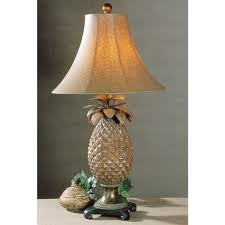 Uttermost Table Lamps Uttermost Anana Pineapple Resin Metal Table Lamp Free Shipping