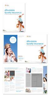 medical insurance company brochure template
