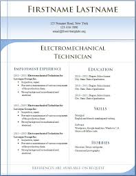 Resume Templates Free For Microsoft Word Awesome Resume Free Word Format Pictures Guide To The