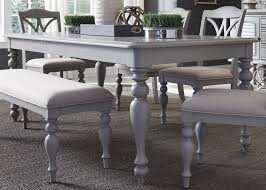 dining tables coleman furniture summer house dove grey rectangular leg extendable dining table