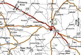 Ohio Road Map Thumbsplus Image Directory