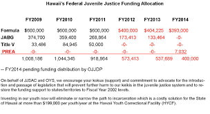 department of human services the hawaii juvenile justice state