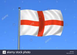 Englands Flag England Flag Moving In The Wind Stock Photo Royalty Free Image