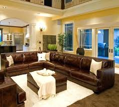 Light Brown Leather Couch Decorating Ideas Leather Sofa Alessia Leather Sectional Living Room Furniture