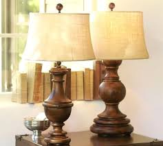 Pottery Barn Lamos Wood Base Table Lamps With Colette Lamp Pottery Barn And 7 C On
