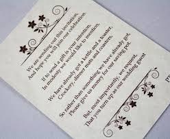 wedding gift money poem vintage style wedding money poems vintage wedding stationery
