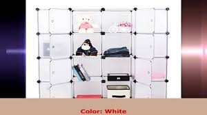 Clothes Cabinet Songmics Diy Plastic Bookshelf Closet Wardrobe Cabinet Bathroom