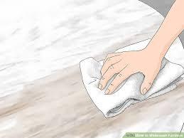 white wash wood 3 ways to whitewash furniture wikihow