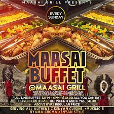 Buffet Dallas Tx by Maasai Grill Grillmaasai Twitter