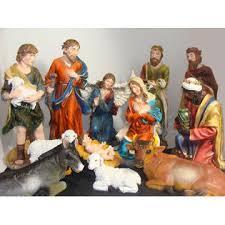 sterling large 12 outdoor nativity set yard