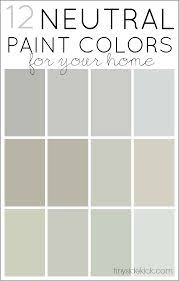 how to choose neutral paint colors 12 perfect neutrals nearly perfect neutral paint colors neutral paint colors neutral