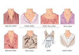 collars and necklines on tops great picture reference and