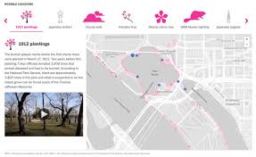 Vre Map Learn More About The Cherry Blossoms Around The Tidal Basin