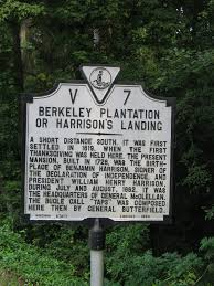 va v7 berkeley plantation or harrisons landing