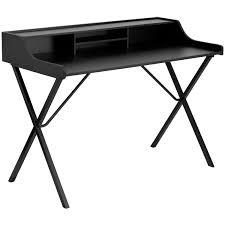 Secretary Desk Black by Tables Korean Secretary Desk Material Wood Base Finish Brown