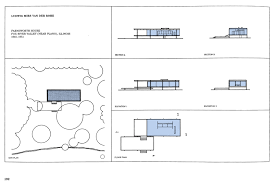 Barcelona Pavilion Floor Plan Dimensions Architectural Ruminations Precedents In Architecture Farnsworth