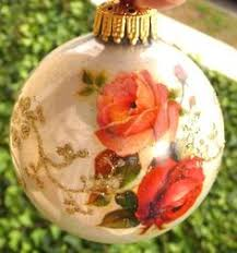 tree of enchantment glass ornament an heirloom