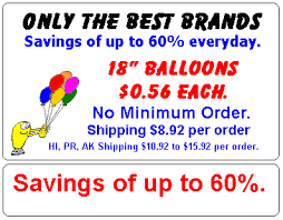valentines day balloons wholesale bargain balloons wholesale balloons at discount prices