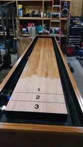 How Long Is A Shuffleboard Table by How To Build A Shuffleboard Table Shuffleboard Table