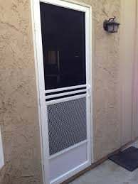 Mobile Window Screen Repair Swinging Screen Doors Screen Door And Window Screen Repair And