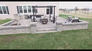 Paver Patio Installation by Belgard Paver Patio Installed By Fox Valley Hardscapes 630 479