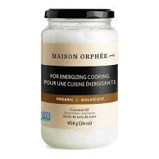 huile de noix de coco cuisine huile de noix de coco désodorisée bio la maison orphée