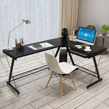L Form Schreibtisch Amazon De Hlc L Form 161 120 73cm Eckschreibtisch Schreibtisch