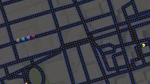 wallpaper google maps google maps pacman art hd artist 4k wallpapers images