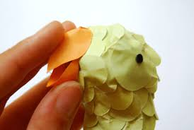 How To Make A Paper Beak - the paper decorations for a summer garden