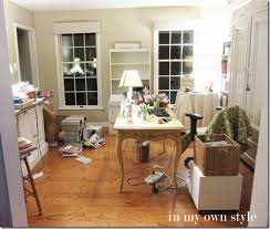 decorate a home office home office no cost decorating switcheroo in my own style