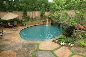swimming pool financing modern landscape hardscape design and