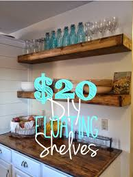diy kitchen shelves on bliss street diy floating shelves tutorial for 20 each on