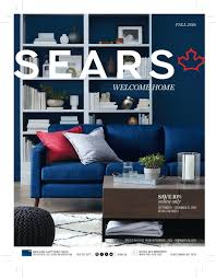 Sears Canada Furniture Living Room Sears Canada Unveils An Exciting New Look And Style For Its Annual