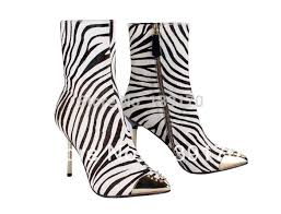 womens zebra boots print picture more detailed picture about free shipping
