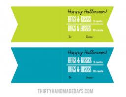 halloween printable easy treat idea
