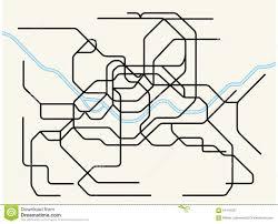 Korean Subway Map by Seoul Metropolitan Subway Map Stock Illustration Image 64119337