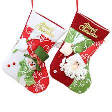 popular christmas socks decor buy cheap christmas socks decor lots