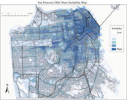 San Francisco Bart Map by Bike Share San Francisco Map Michigan Map