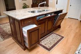 kitchen islands with sink and dishwasher a compact island in a biltmore area kitchen remodel