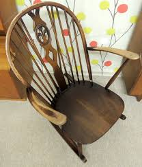 Ercol Windsor Rocking Chair Antiques Atlas Retro Ercol Rocking Chair Dark